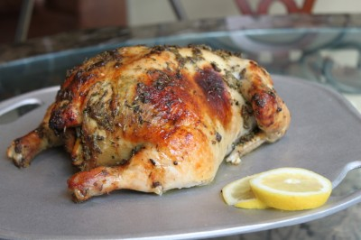 Dijon & Herbes de Provence Oven-Roasted Chicken