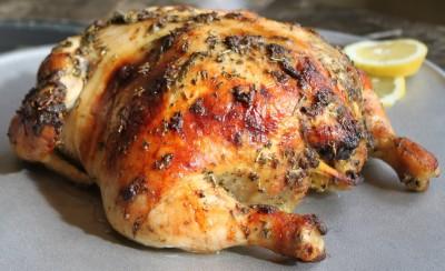 Dijon & Herbes de Provence Oven-Roasted Chicken
