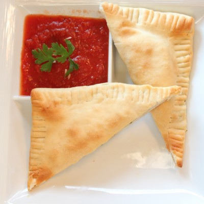Homemade Pizza Pockets/Hot Pockets