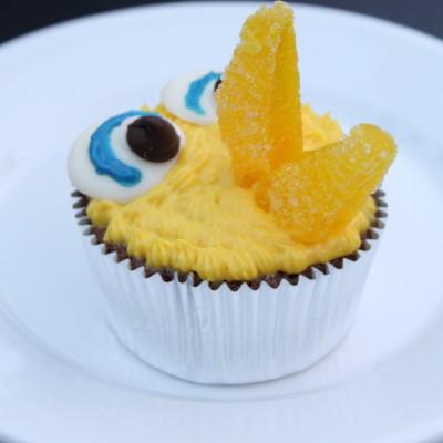 Big Bird Cupcake
