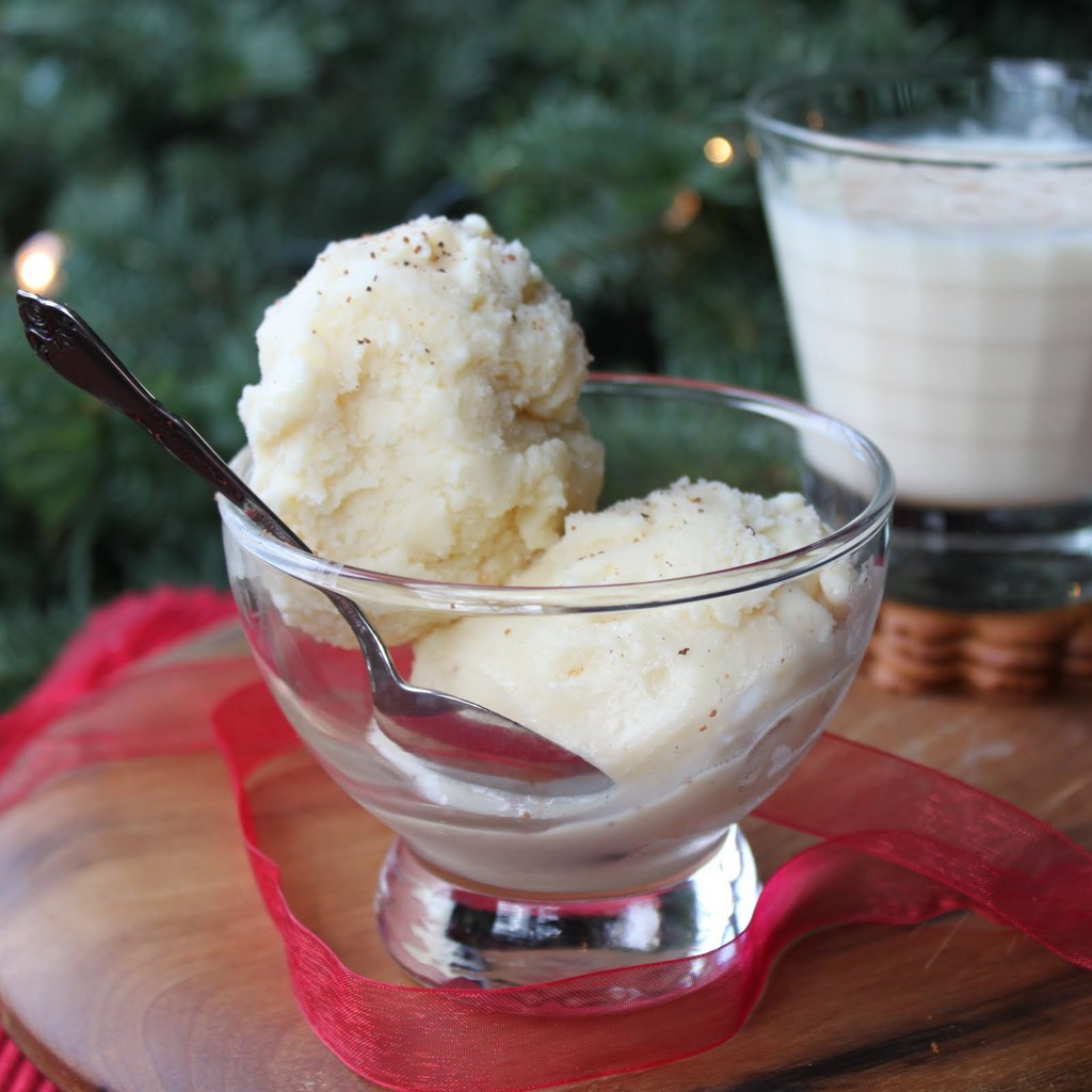 "One Response to ""Eggnog Ice Cream"""