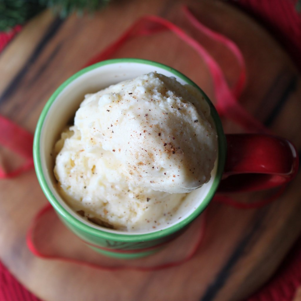 Eggnog Ice Cream | Itsy Bitsy Foodies