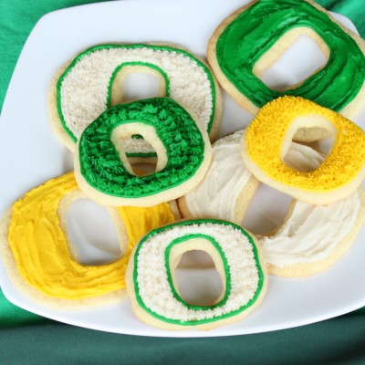 GO DUCKS! Sugar Cookies