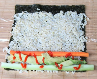 Homemade Sushi - Method