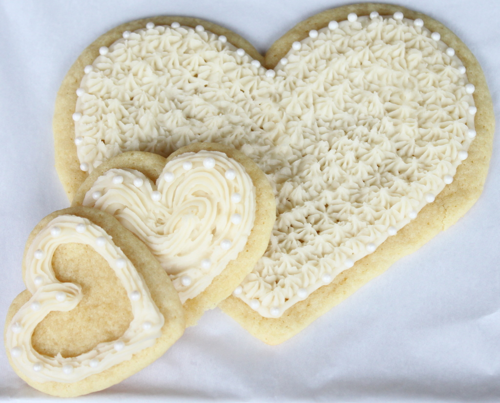 for valentine s day give your someone special heart sugar cookies that ...