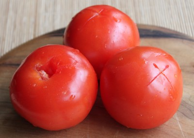 Love Apples (Baked Tomatoes) - Method