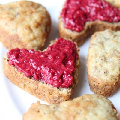 Bran Muffin Hearts
