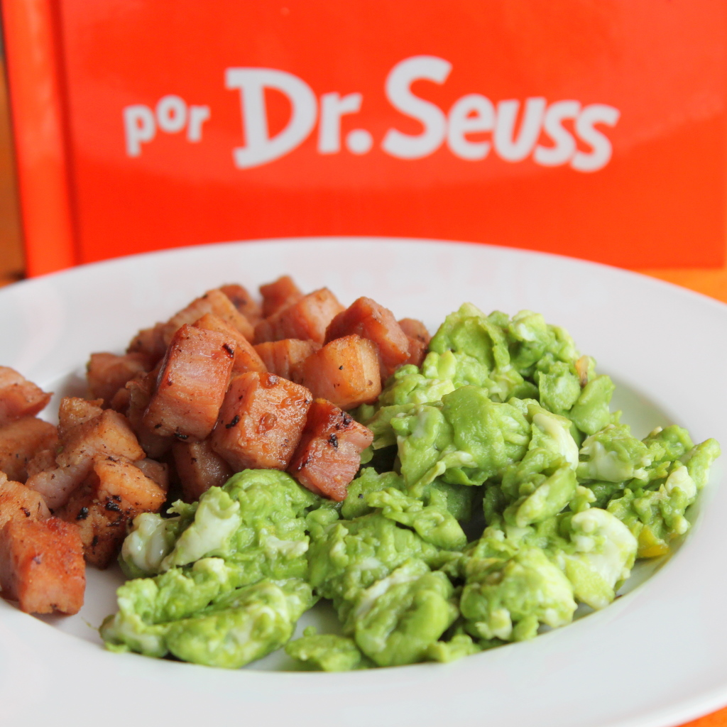 Green Eggs and Ham | Itsy Bitsy Foodies