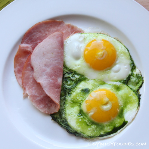 Naturally-Dyed Green Eggs and Ham