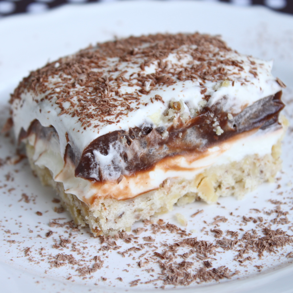 pudding layered cake