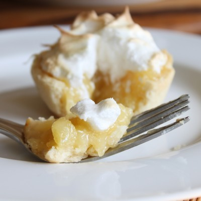 Pineapple Meringue Tarts