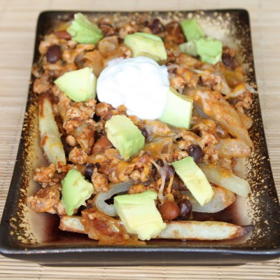 Turkey Chili Cheese Fries