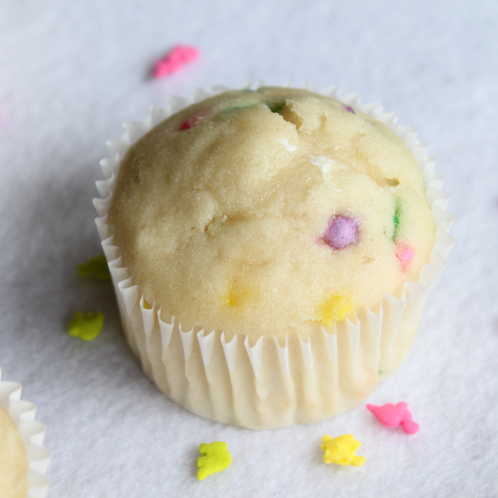 ... funfetti cupcakes or a whole cake for that matter with the cake batter