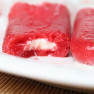 Raspberry Creamsicles