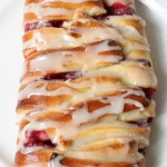 Raspberry Pastry Braid