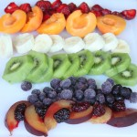 Rainbow Fruit Pizza - Method