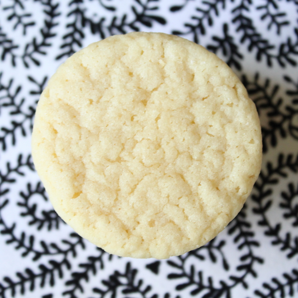 thick chewy sugar cookies