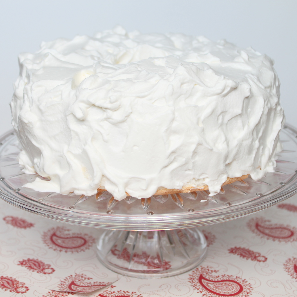 ... whipped cream frosting seems to be more stable than the whipped cream