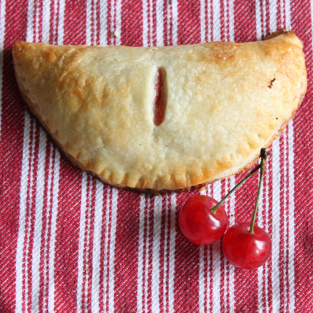 Sour Cherry Hand Pies | Itsy Bitsy Foodies