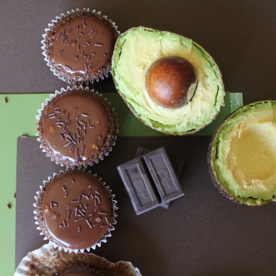 Chocolate Avocado Glaze