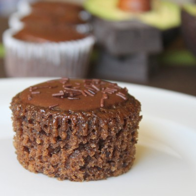 Chocolate Avocado Cupcakes