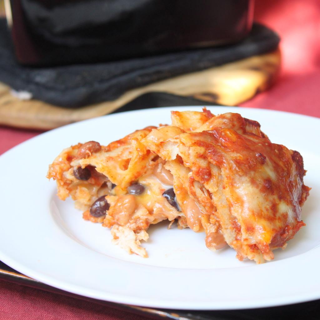 Chicken Enchilada Casserole | Itsy Bitsy Foodies