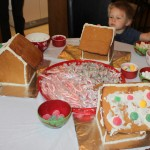 Making Gingbread Houses