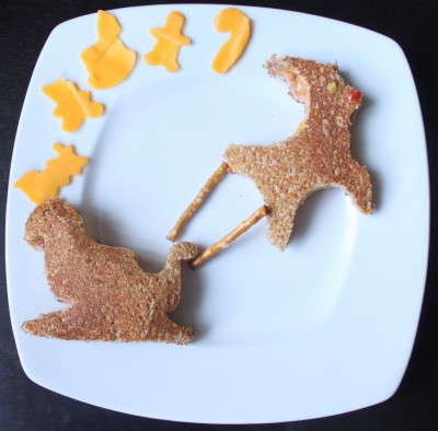 Rudolph Christmas Edible Art