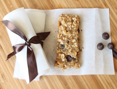 Banana Oatmeal Energy Bars