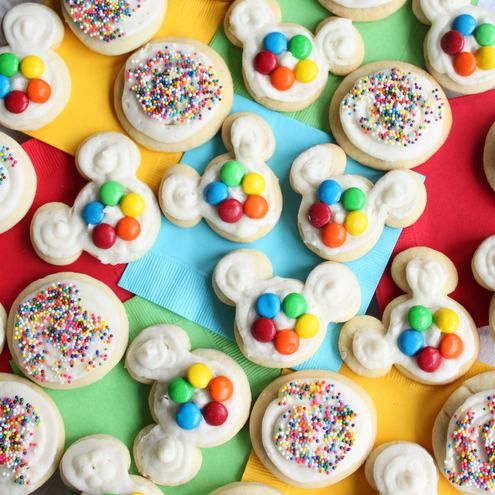 Mickey Mouse Clubhouse Sugar Cookies