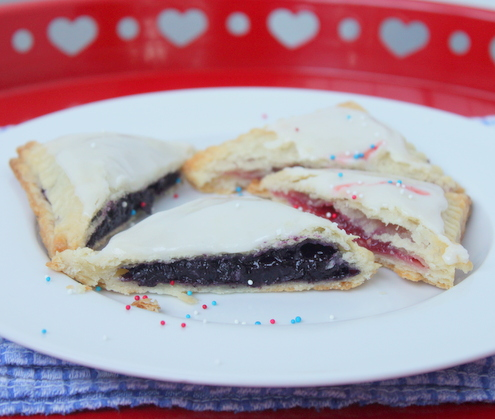 Blueberry and Strawberry Pop-Tarts