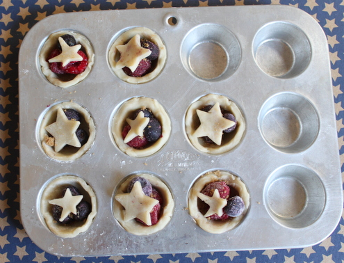 Dough Scrap Jam Tarts