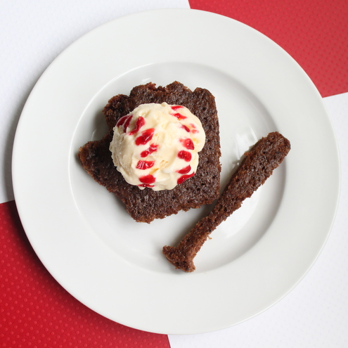 Baseball Brownies à la Mode