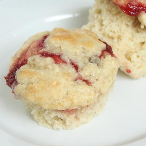 Strawberry Banana Oat Muffins