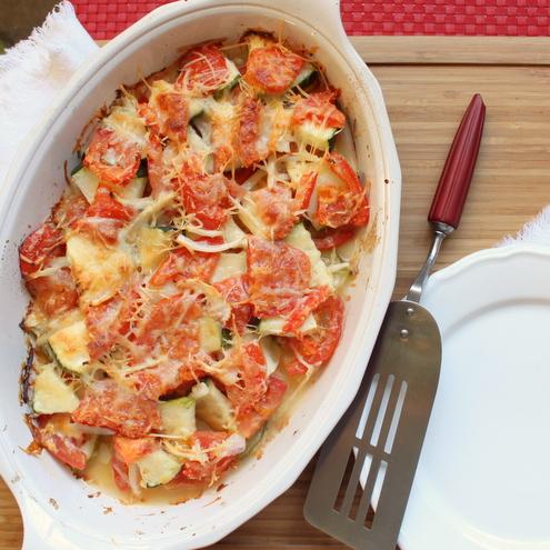 Zucchini & Tomato Gratin