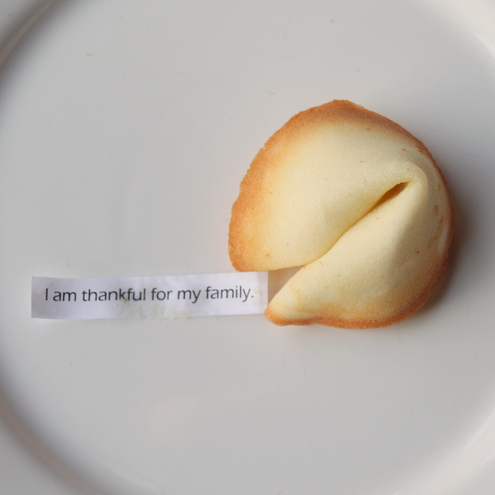 Thanksgiving Fortune Cookies