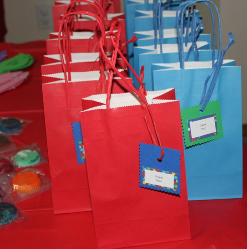 Party Favor Bags