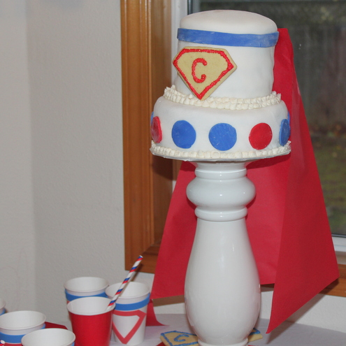 Super Hero Cake