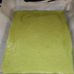Jelly Roll Cake with Natural Green Dye