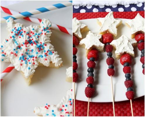 Patriotic Poundcake Pops