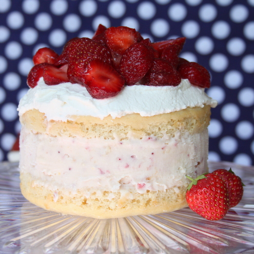 Strawberry Shortcake Ice Cream Cake Itsy Bitsy Foodies