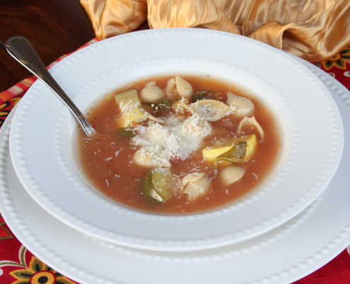 Crock-pot Minestrone Soup