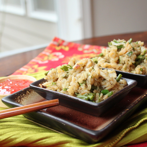 Dungeness Crab Fried Rice