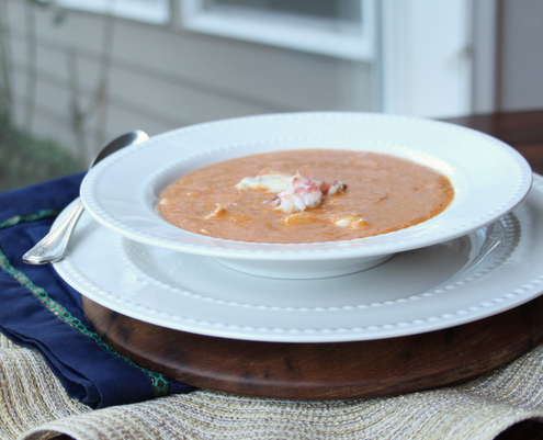 Healthy Seafood Bisque