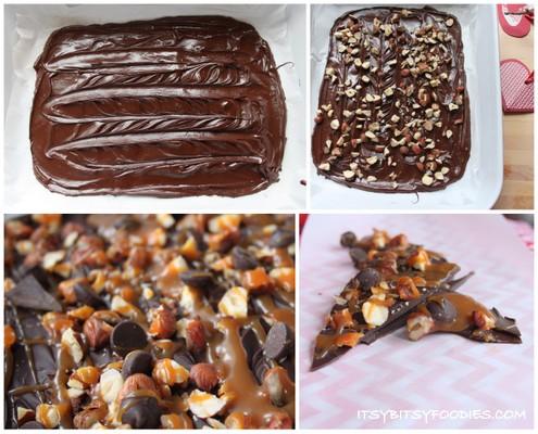 Chocolate-Orange Hazelnut Bark Recipes — Dishmaps