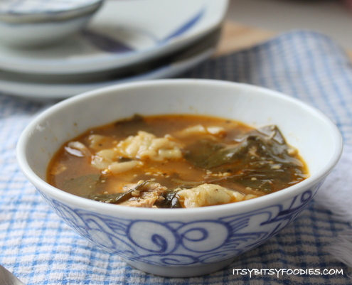 Chicken Potsticker (Chinese Dumpling) Soup