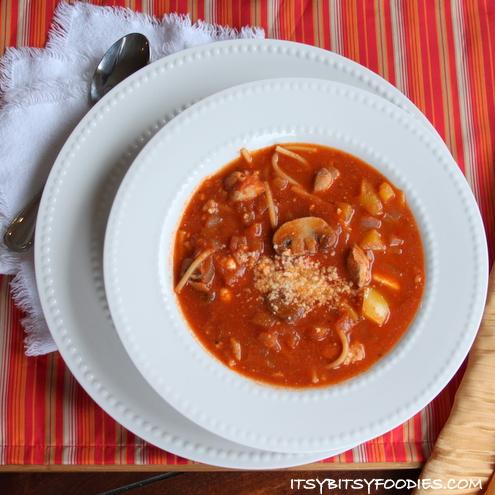 Ragú Chicken Cacciatore Soup