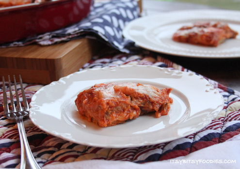 Ragú Eggplant Parmesan Lasagna