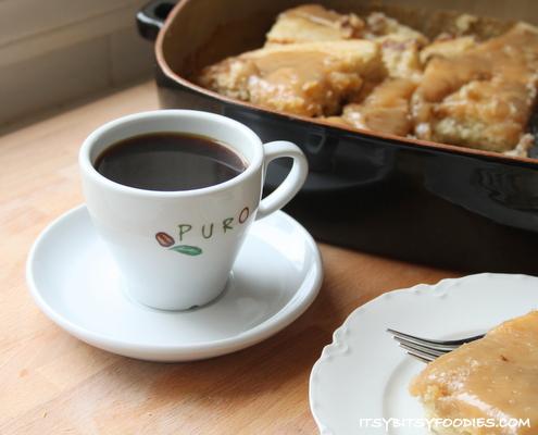 Herman Cake & Puro Coffee