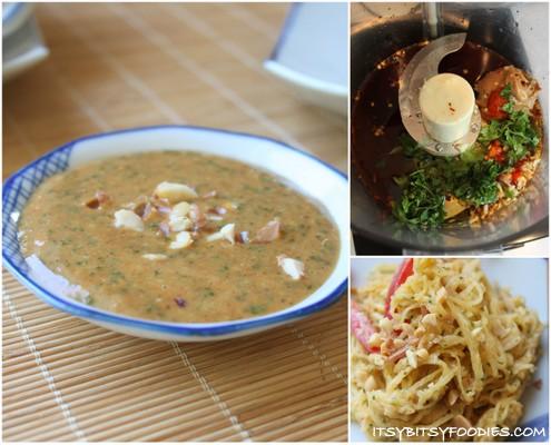 Spaghetti Squash with Thai Peanut Dressing